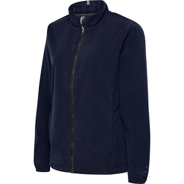 NORTH FULL ZIP FLEECE JACKET WOMAN hummel, blau hummelonlineshop